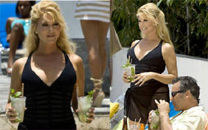 "Audrey as ""Veronica"" in Burn Notice on USA Network 2009"