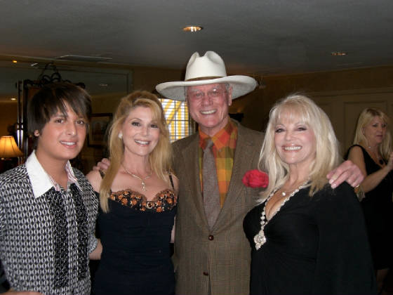 Daneil, Audrey, Larry Hagman and Ruth