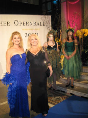 Audrey and Ruth at the Opernball
