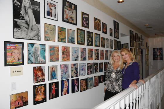 Audrey and Ruth and the Wall of Fame