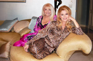 Ruth and Audrey Landers in STAR Collection loungewear
