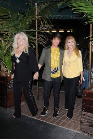 Daniel with mom Audrey and grandmother Ruth out on the town